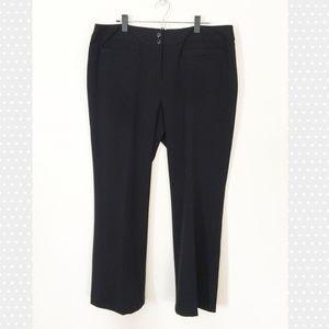 Style & Co Pants - Style & Co Black Stretch Dresspants Straightleg